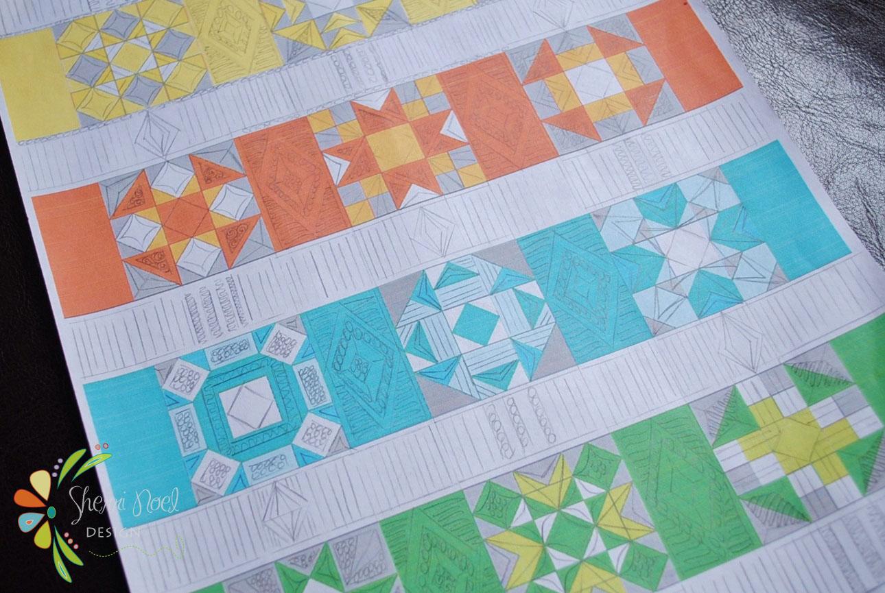 Quilt As You Go Tutorial ~ Part 1 - : quilting blocks as you go - Adamdwight.com