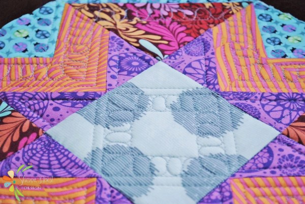 quilt as you go block 2