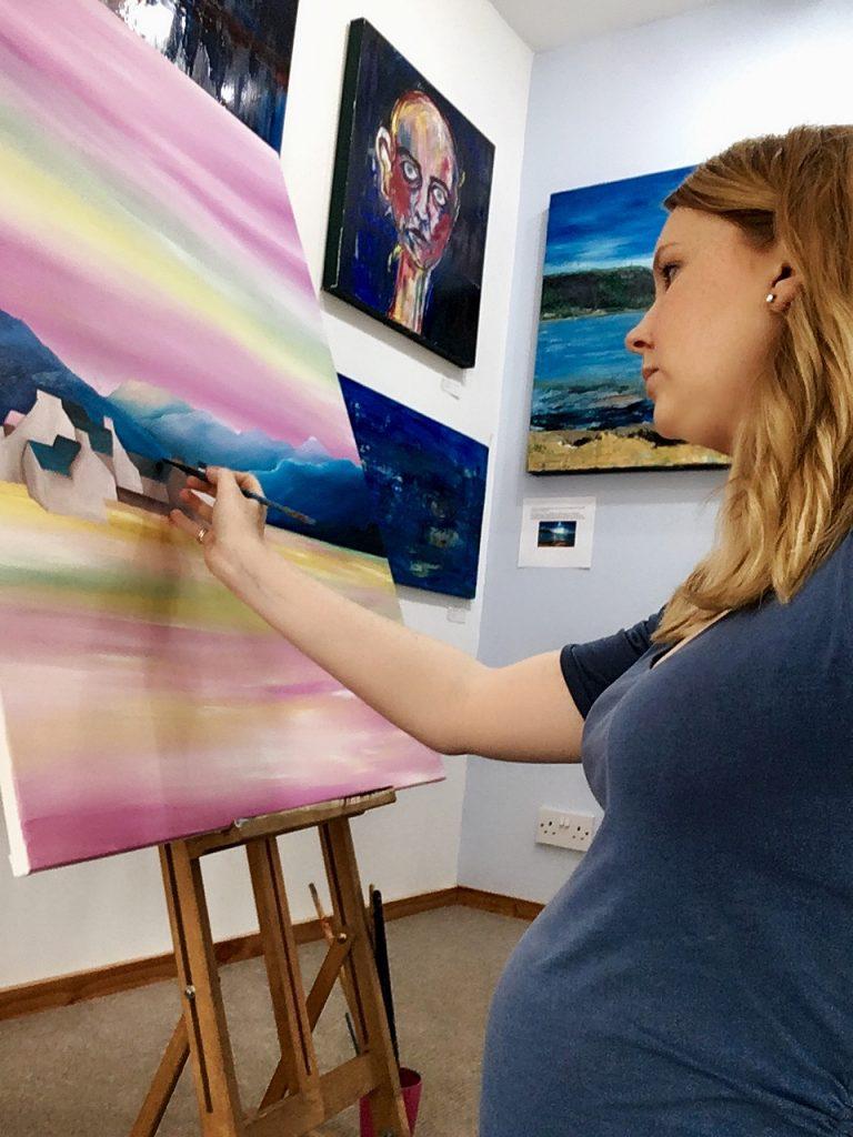 Rebecca Mclean - Artist