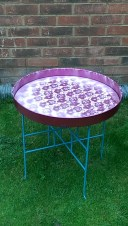 Lace effect table