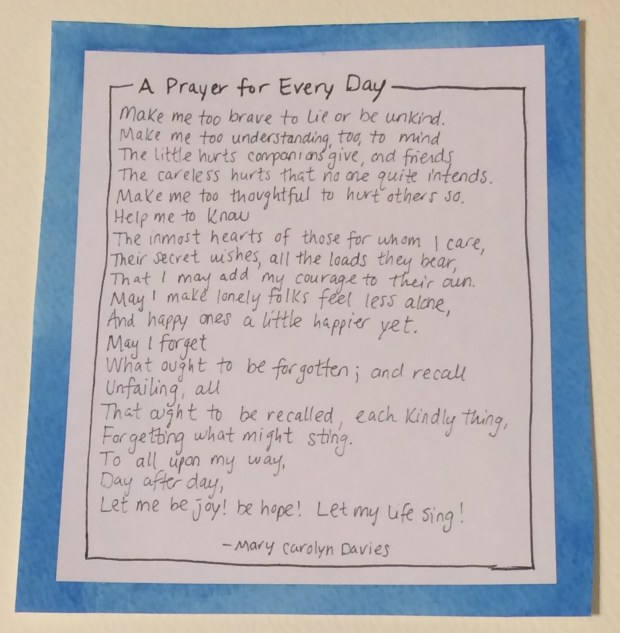 A Prayer for Every Day
