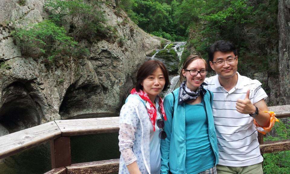 Korea 2014- With my Co-teachers