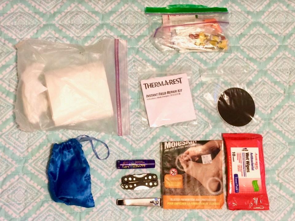 Toilet paper, med kit