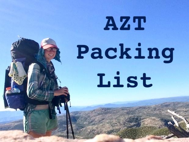 azt-packing-gear-list