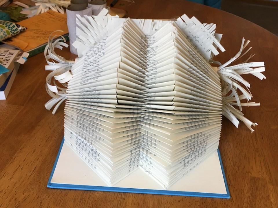 book art project back