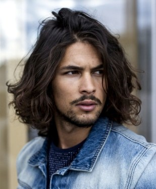 long-haired-male-model-sexy-hairstyle-cool-guys