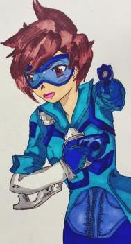 A snazzy blue Tracer