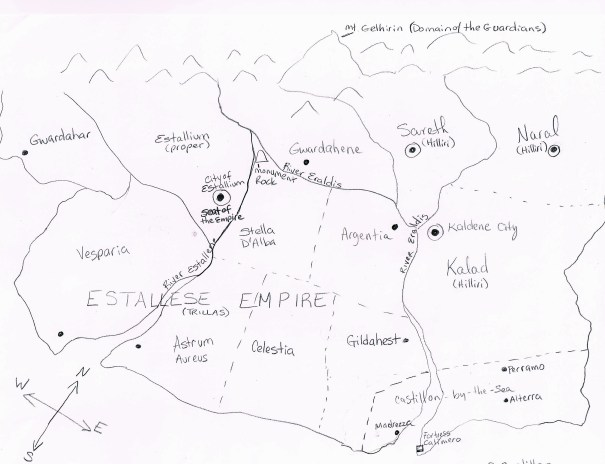 Map of Estallium