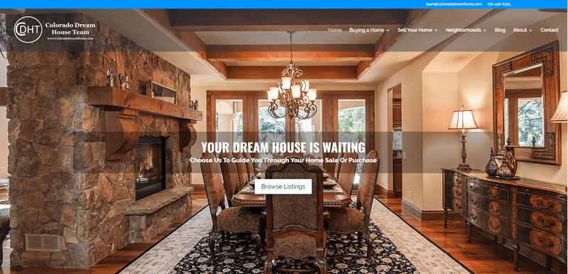 Colorado Real Estate Website New