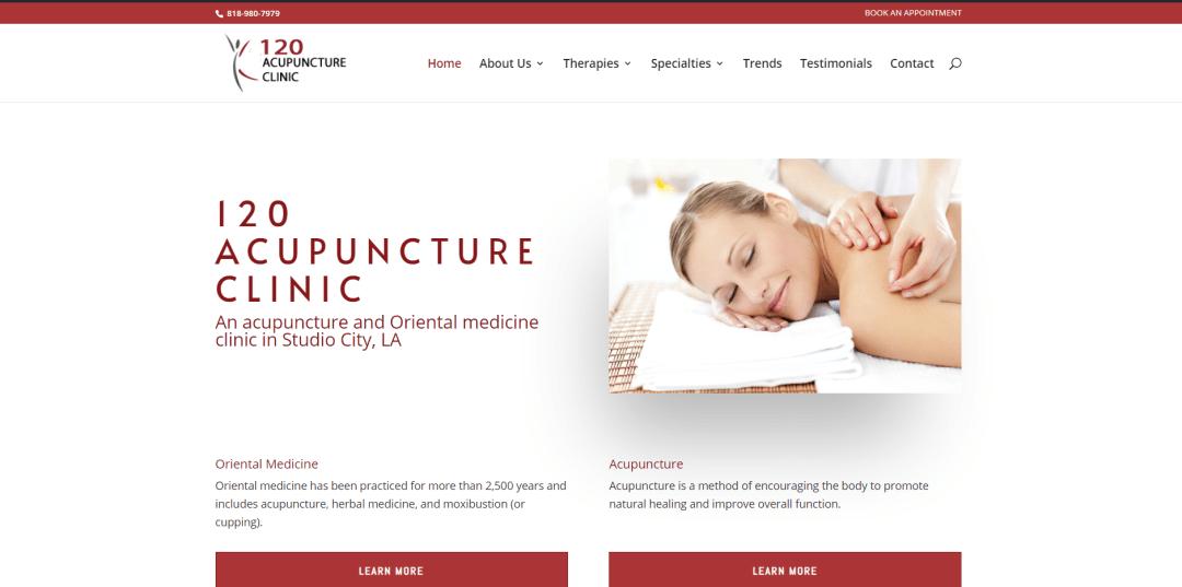 New Acupuncture Website