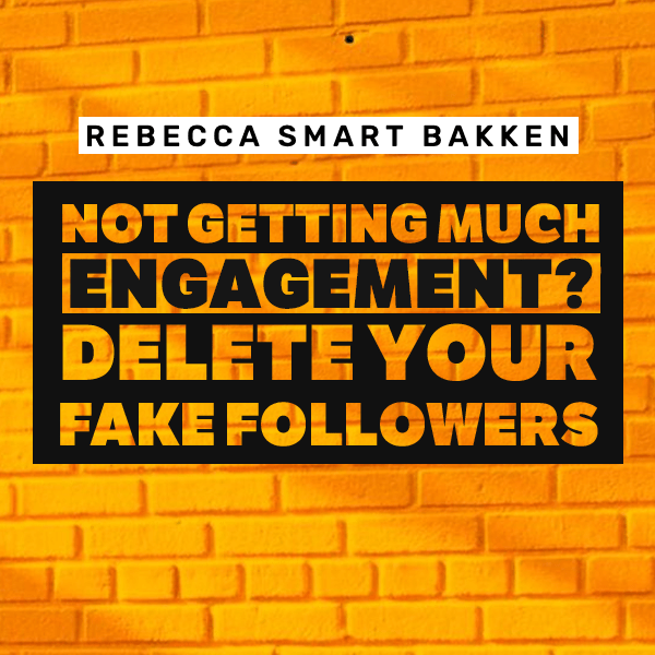 Not getting much engagement on Instagram? Delete / remove fake followers