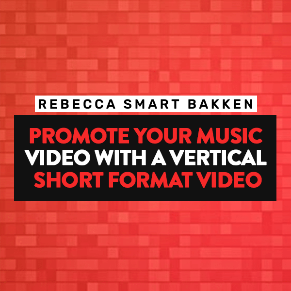 Promote your music video with a vertical short format video like TikTok or Reels or YouTube Shorts.