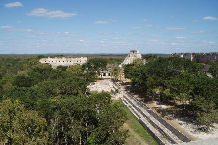 2005 01 18 Uxmal view