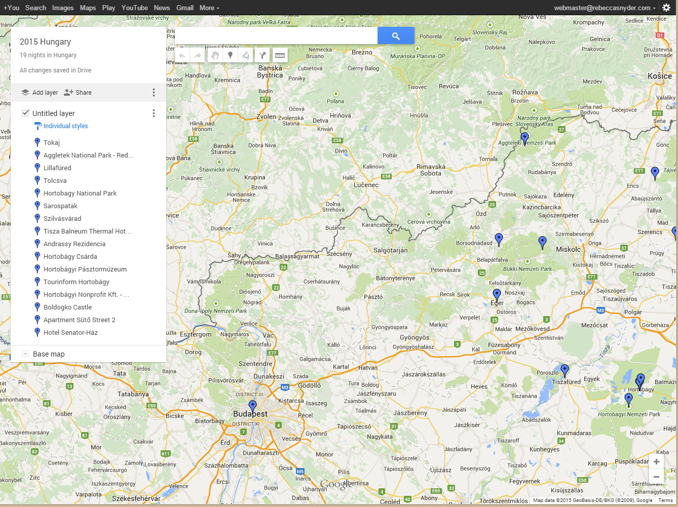 How to Take Your Google Map With You rebeccasnydercom