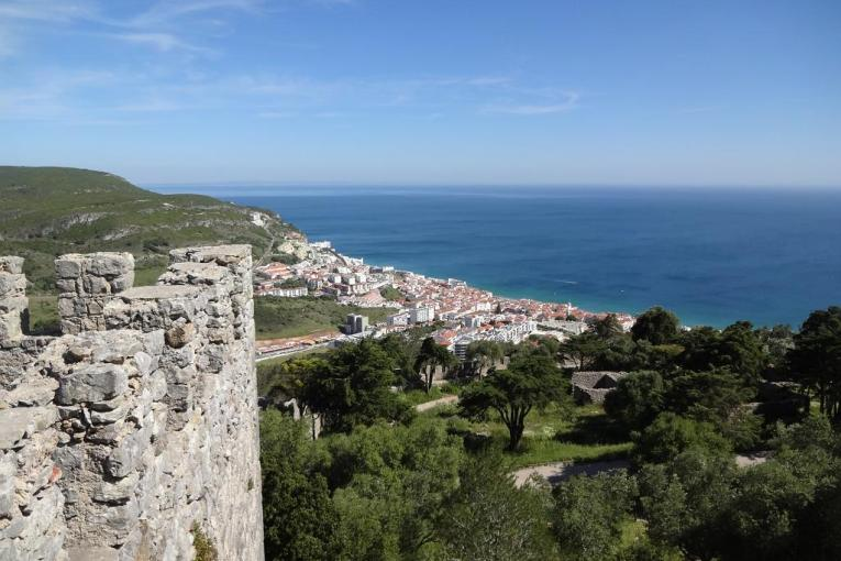 View from Sesimbra castle