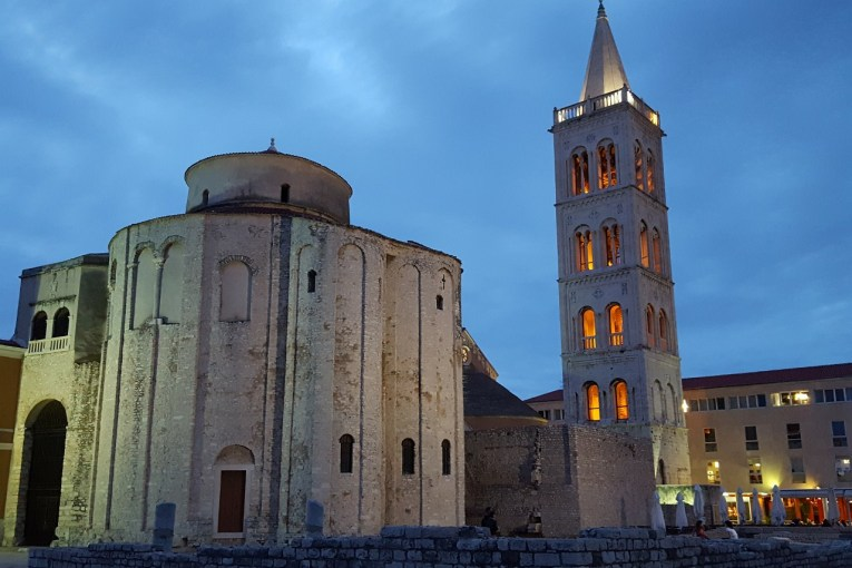9th Century Church of St. Donatus and the Bell Tower of St. Anastasia Cathedral