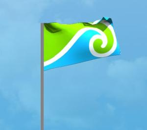 The 'Innovation Nation' flag
