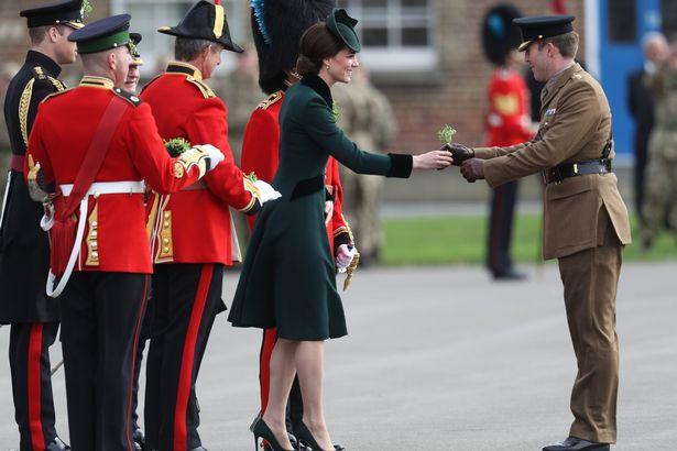 The-Duke-And-Duchess-Of-Cambridge-Attend-The-Irish-Guards-St-Patricks-Day-Parade (3).jpg