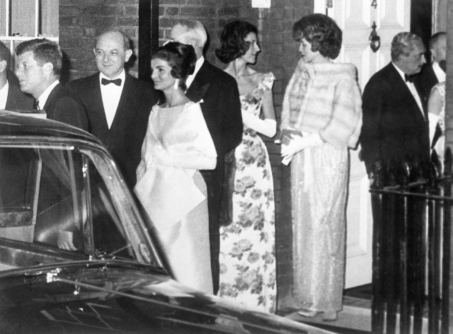 John F. Kennedy Attending Palace Dinner