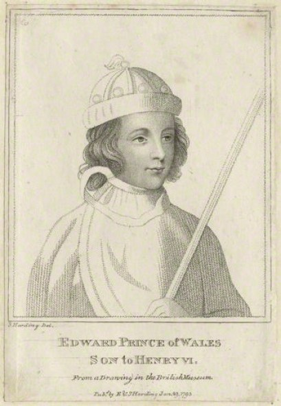 NPG D23753; Edward, Prince of Wales by Sylvester Harding, published by  E. & S. Harding