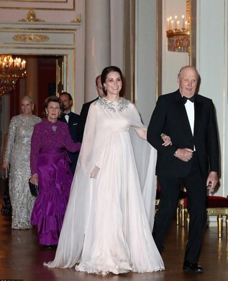 Pink Alexander McQueen Gown