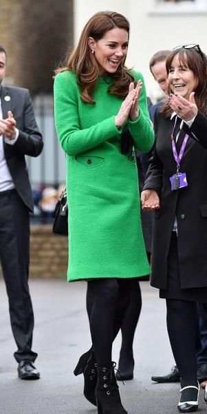 Green Eponine London Dress