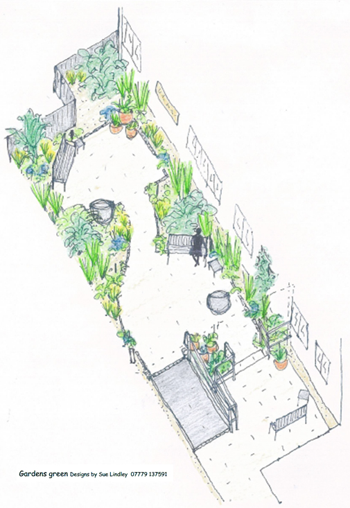Cancer Care Courtyard Design_Sue Lindley