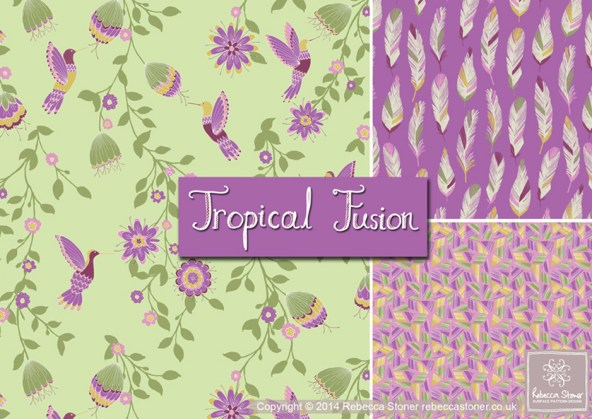 Tropical Fusion Collection © Rebecca Stoner www.rebeccastoner.co.uk