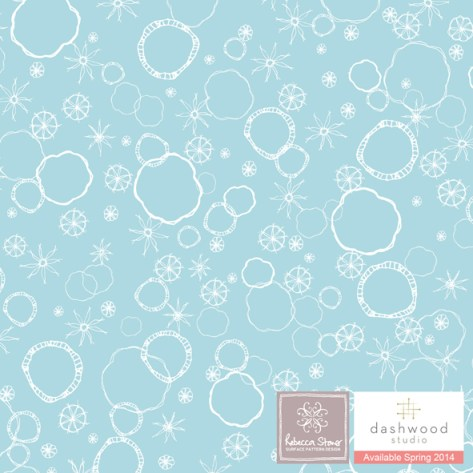 Prairie by Rebecca Stoner for Dashwood Studio - PRAI 1056_blue