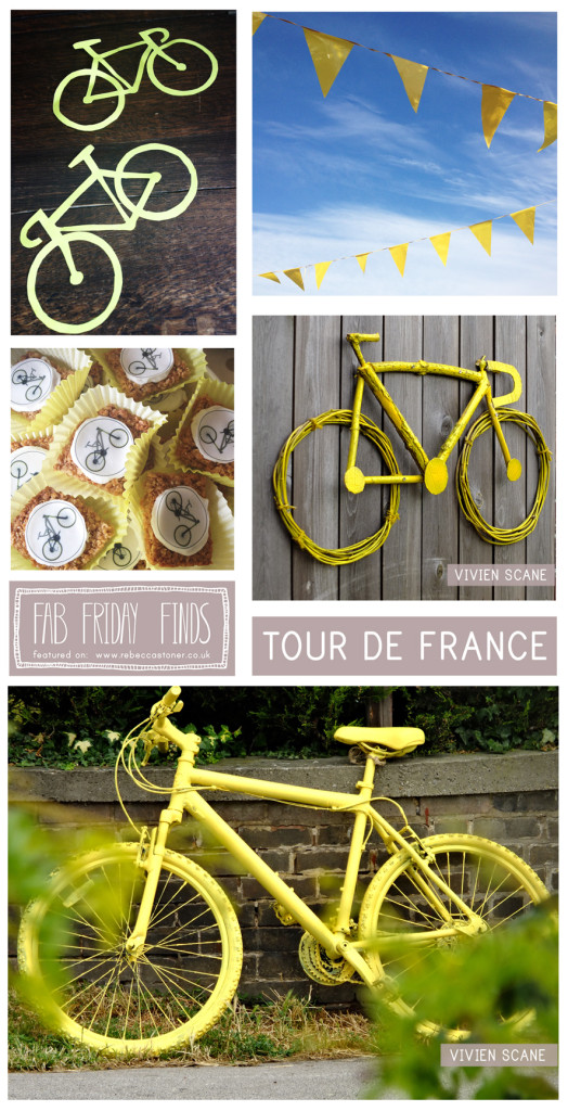 Fab Friday Finds - Week 15 - Tour de France - on Rebecca Stoner www.rebeccastoner.co.uk