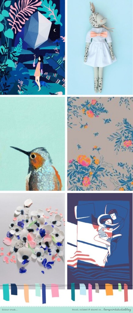 Love Print Studio - Colour Crush Moodboard