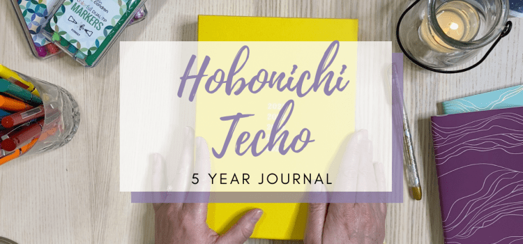 My Hobonichi Techo 5 Year Journal
