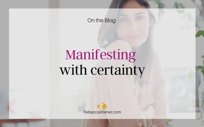 Manifest with Certainty