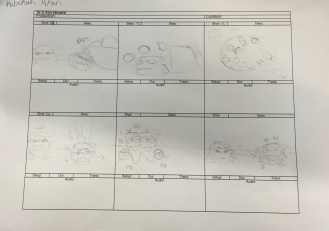 Oh, Brett Sprout! storyboard