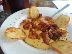 My staple: Shrimp & Grits.