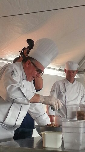 My favorite! Head Chef from Savannah Technical College's Culinary Program