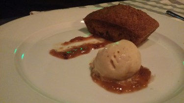 Banana Nut Loaf with Ice cream