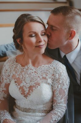 romantic wedding portraits by Kaitlin Powell