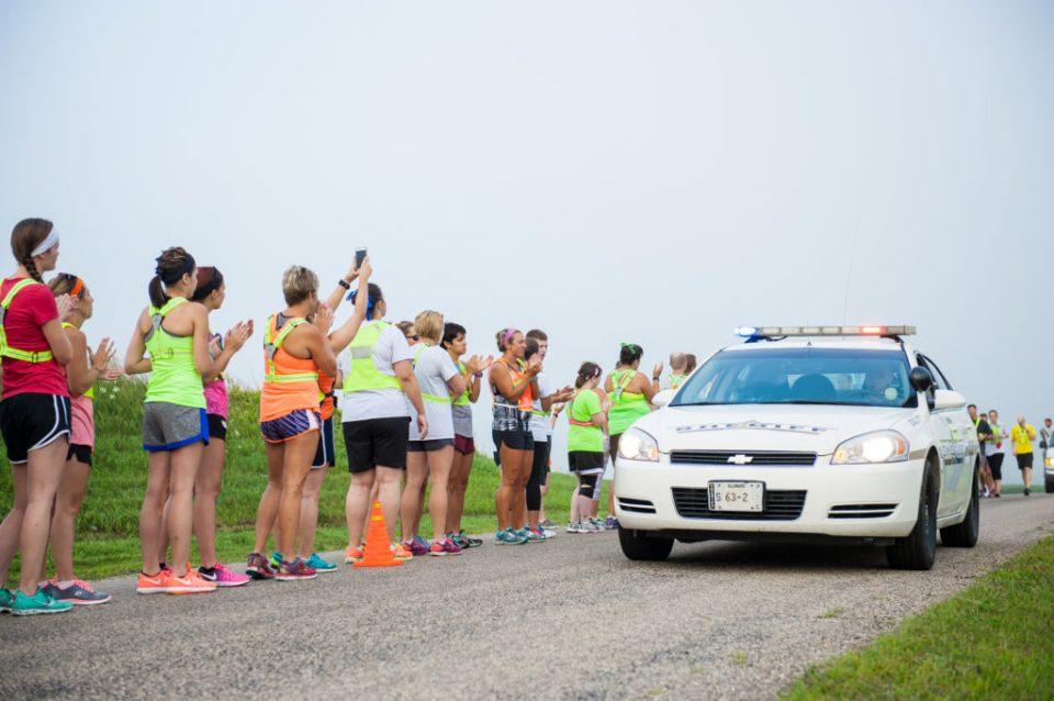 St. Jude fundraising runners