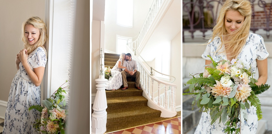 romantic southern charm courthouse wedding