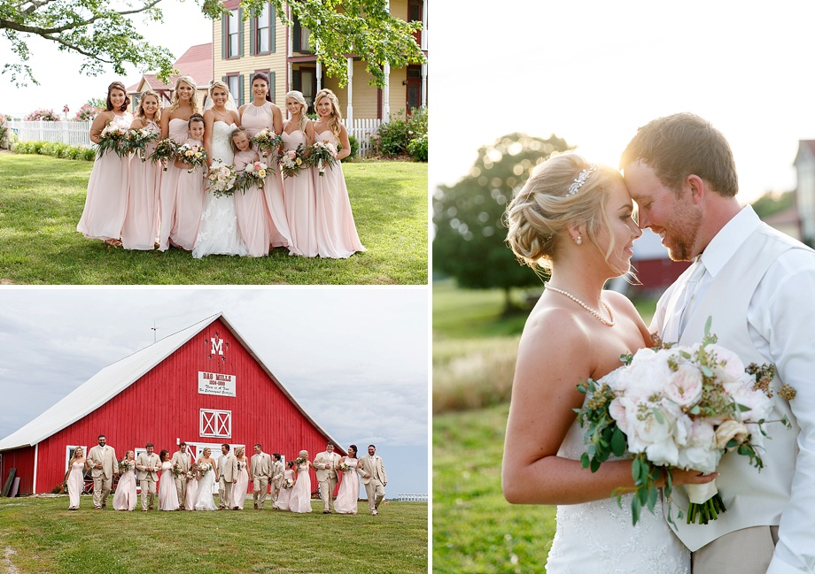 rural barn wedding