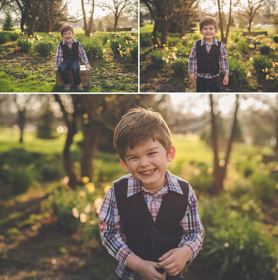 sunset golden hour family photography