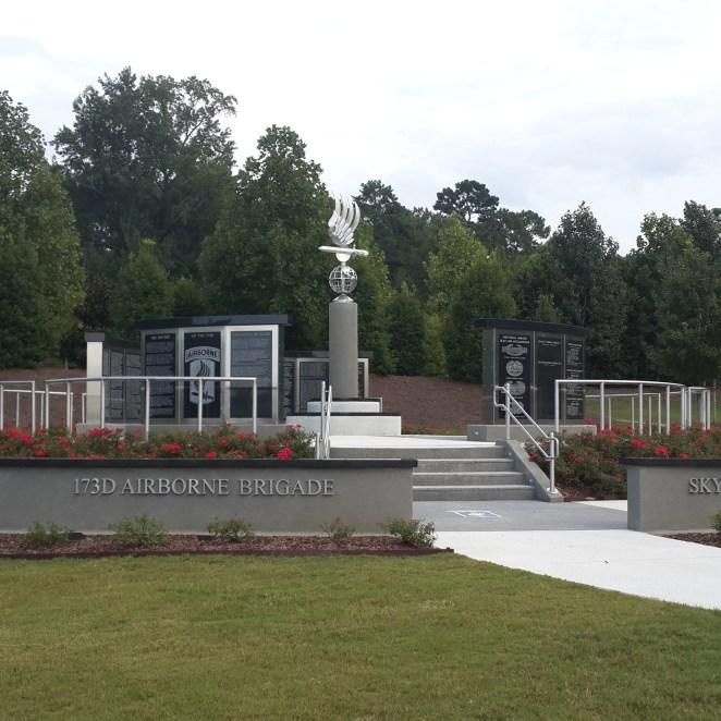 Airborne memorial.