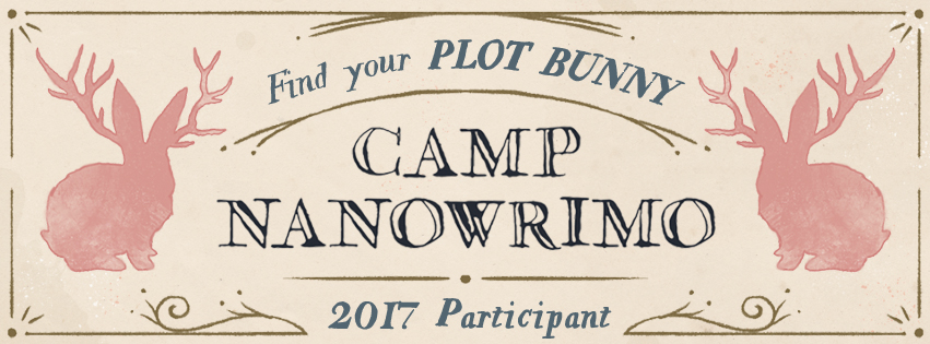 camp nanowrimo, rebekah loper, camp nano, writing