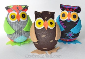 Fancier than the owls we made, but as close as I could find. Learn more about these on CraftsnCoffee.com