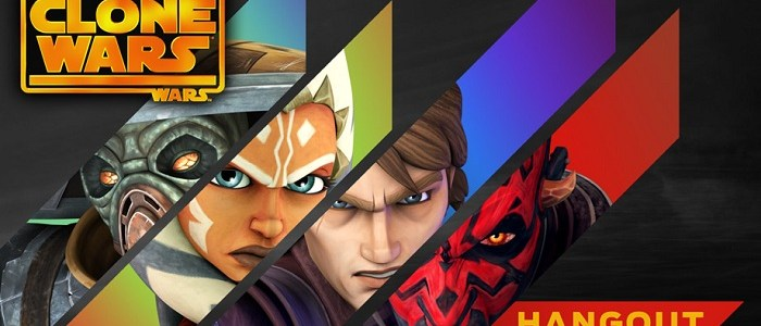 The Clone Wars Google Hangout Event
