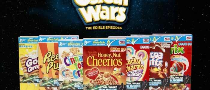 "Star Wars And General Mills Bring Us ""Cereal Wars: The Edible Episodes"""