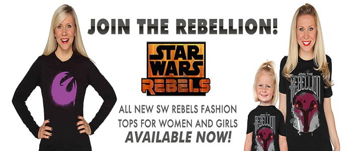 New Star Wars Rebels Shirts Available At Her Universe
