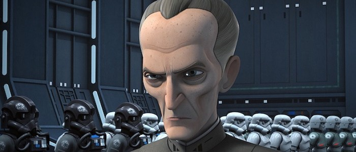 First Look At Grand Moff Tarkin In Star Wars Rebels!
