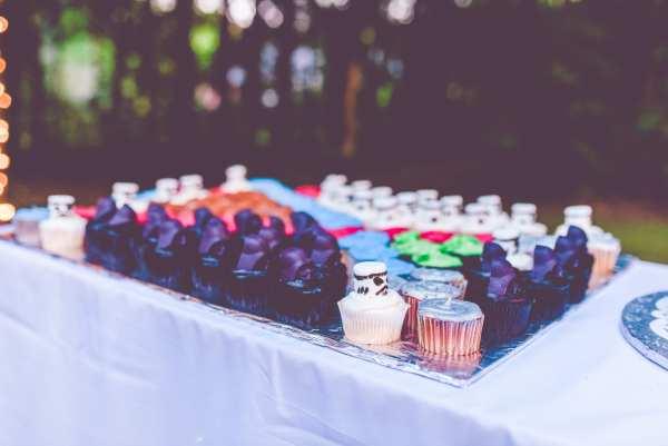 Star Wars Wedding Cupcakes